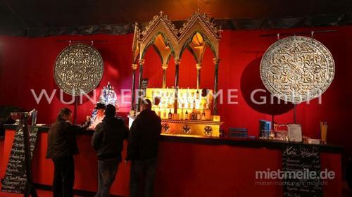 rote Bar - WUNDERRÄUME GmbH vermietet: Dekoration/Kulisse für Event, Messe, Veranstaltung, Incentive, Mitarbeiterfest, Firmenjubiläum