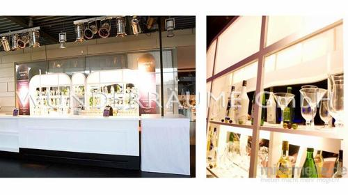 Bar, weiß - WUNDERRÄUME GmbH vermietet: Dekoration/Kulisse für Event, Messe, Veranstaltung, Incentive, Mitarbeiterfest, Firmenjubiläum