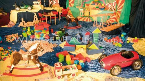 Kinderland - WUNDERRÄUME GmbH vermietet: Dekoration/Kulisse für Event, Messe, Veranstaltung, Incentive, Mitarbeiterfest, Firmenjubiläum
