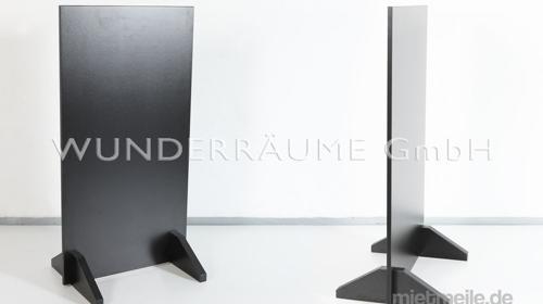 Aufsteller, schwarz - WUNDERRÄUME GmbH vermietet: Dekoration/Kulisse für Event, Messe, Veranstaltung, Incentive, Mitarbeiterfest, Firmenjubiläum