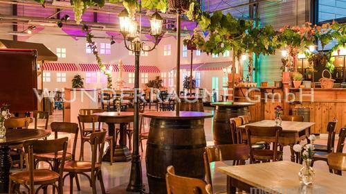 Weindorf - WUNDERRÄUME GmbH vermietet: Dekoration/Kulisse für Event, Messe, Veranstaltung, Incentive, Mitarbeiterfest, Firmenjubiläum