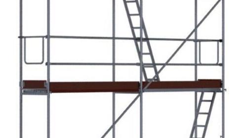 Fassadengerüst 12m Breit, Arbeitshöhe 6,30m