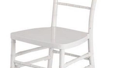 Chiavary Stuhl Chiavari Tiffany Bankettstuhl weiß