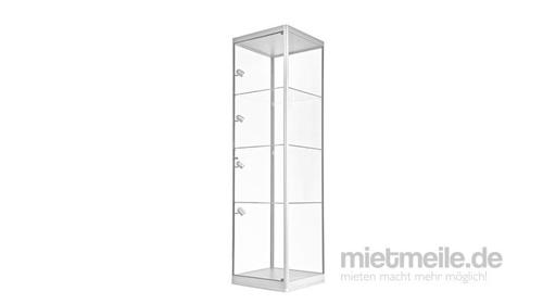 Standvitrine, Vitrine, Vitrinen, Standvitrinen mit LED-Beleuchtung