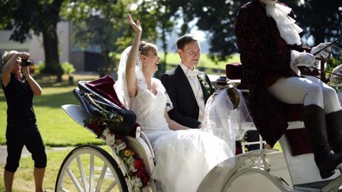 historische Hochzeitskutschen