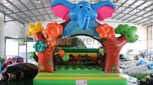 Elefant Hüpfburg mieten
