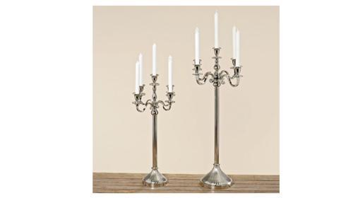 Verleih Hochzeitsdekoration Mieten Kerzenständer 1-3- 5 Armig Kerzenhalter Hochzeit