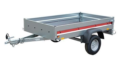 Anhänger - 2,01 x 1,17 - 750kg - Trailer