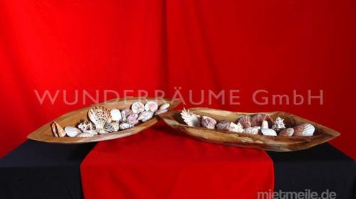 Holzschale - WUNDERRÄUME GmbH vermietet: Dekoration/Kulisse für Event, Messe, Veranstaltung, Incentive, Mitarbeiterfest, Firmenjubiläum
