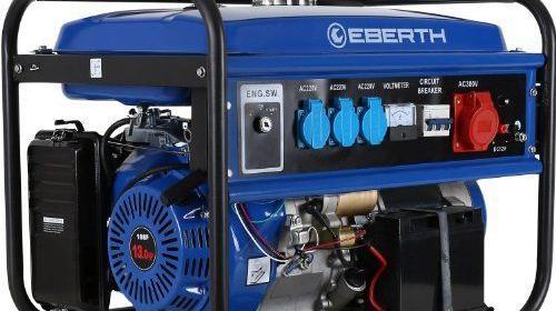 Stromgenerator - Stromerzeuger 4.1KW 16A CEE - Stromaggregat