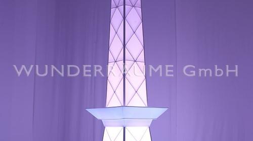 Funkturm Berlin - WUNDERRÄUME GmbH vermietet: Dekoration/Kulisse für Event, Messe, Veranstaltung, Incentive, Mitarbeiterfest, Firmenjubiläum