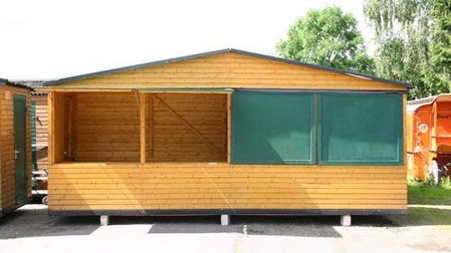 Holzhäuser für Weihnachtsmärkte, Weihnachtsfeier und ähnliches