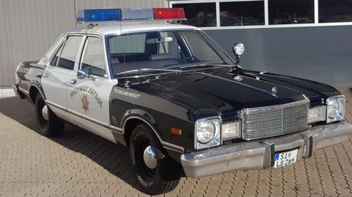 Polizeiauto US Policecar Mietwagen für Selbfahrer