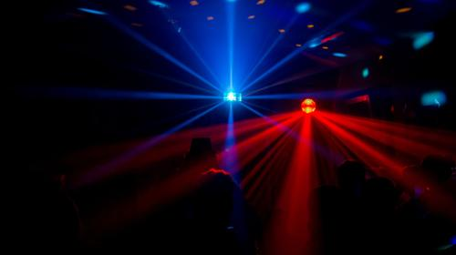 Lichteffekt Set / ADJ Revo IV / Eurolite D-400 / Nebelmaschine