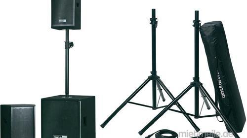 Musikanlage / Pa-Anlage / MPA Milly MK 3