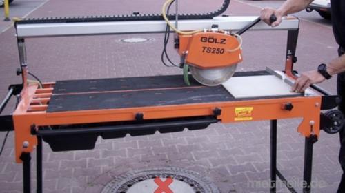 Fliesenschneider bis 100 cm Schnittlänge, Elektro