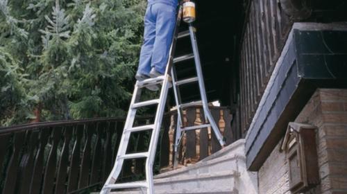 Treppenhausleiter, Treppenleiter, Leiter