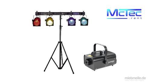 Lichtanlage Lichttechnik Licht Partybeleuchtung Scheinwerfer Nebelmaschine