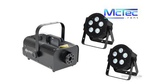 LED Lichtanlage Lichttechnik Licht Partybeleuchtung Scheinwerfer Nebelmaschine