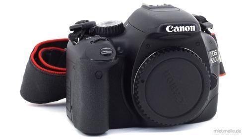 Canon EOS 550D Spiegelreflex-Kamera DSLR Body