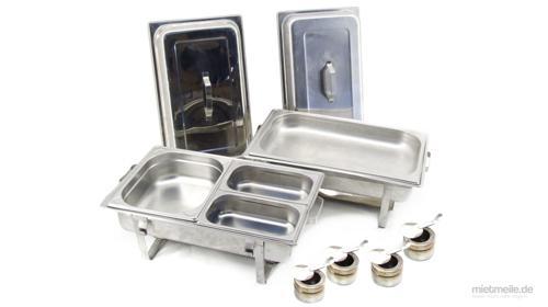 Chafing Dish Speisenwärmer Warmhaltebehälter