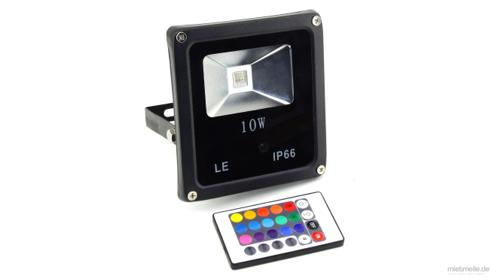 LED Strahler Licht Beleuchtung RGB Farbe