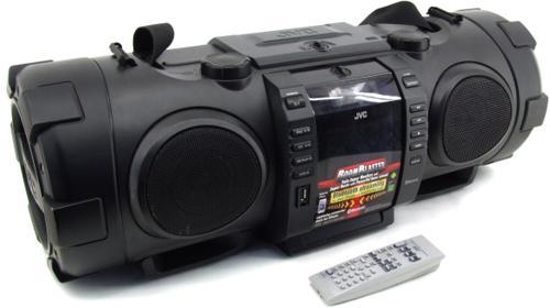 JVC Ghettoblaster Boombox Musik-Anlage USB CD-Radio