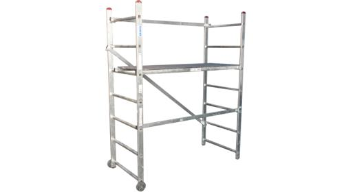Roll-Gerüst 3m Arbeitsbühne Fahrgerüst Plattform
