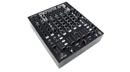 Behringer 6-Kanal DJ-Mixer Mischpult NOX606