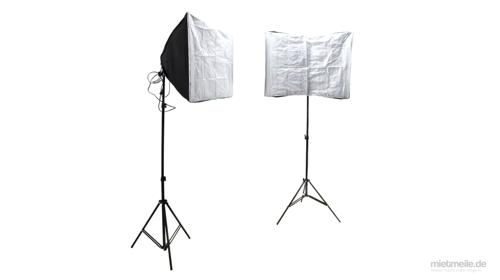 Softbox Set Studioleuchte Fotostudio 50 x 70 cm