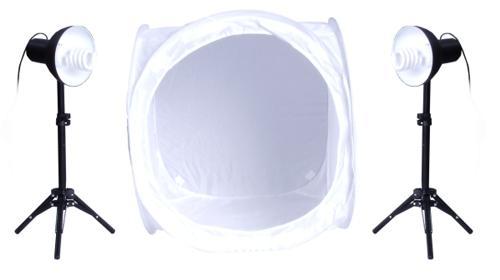 Fotostudio Set Fotolampen Lichtwürfel