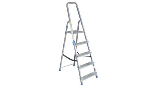Klappleiter Stehleiter Alu-Leiter 5 Stufen