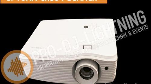Beamer Optoma EH504 Full HD Profi Projektor 5000 Ansilumen mieten, Videotechnik, Leinwand, Videobeamer