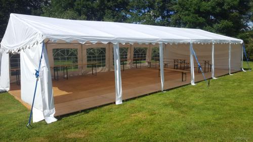 16 x 8m Zelt für alle Arten von Veranstaltungen, Partyzelt, Festzelt, Eventzelt, Pagodenzelt