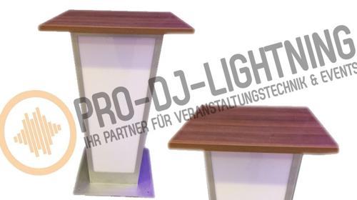 Beleuchtete LED Stehtische, beleuchteter Bistrotisch, Eventmöbel, Lichteffekte