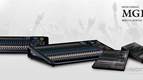 Yamaha MGP 32 Live - Mischpult 24+8 Kanal analog