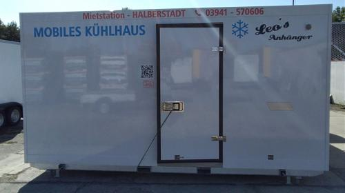 Mobile Tiefkühlzelle Tiefkühler Tiefkühlcontainer Kühlhaus Kühlcontainer