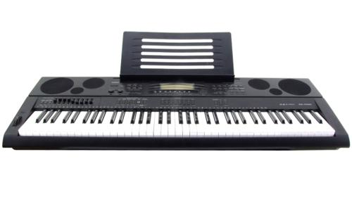Casio WK-7500 Workstation-Keyboard Set