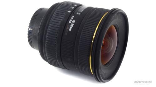 Weitwinkel-Objektiv Sigma 10-20mm F/4-5,6 HSM Canon