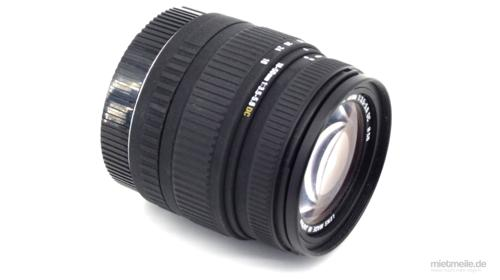 Objektiv Sigma 18-50mm F/3,5-5,6 Canon Infrarot