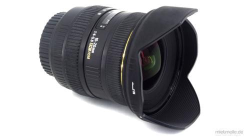 Weitwinkel-Objektiv Sigma 10-20mm F/4-5,6 Nikon HSM