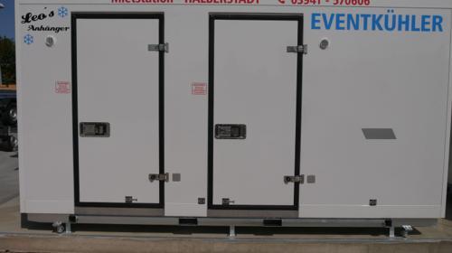 Kombikühlzelle Kombikühlhaus Tiefkühlzelle mobiles Outdoor Kühlhaus leihen mieten