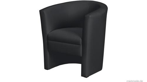 Lounge Sessel / Cocktail Sessel/ Club Sessel / schwarz+weiß