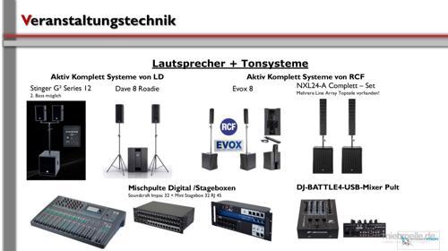 Lautsprecher / Lautsprecherverleih