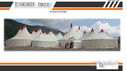 Zirkuszelt / Theaterzelt / Zeltstadt 250–5000 Personen