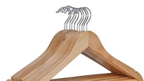 Kleiderbügel Bügel Garderobe Holz
