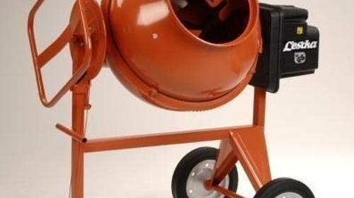 Profi - Betonmischer Lescha SM 185 S - Füllmenge: 180 Liter - Mischer - Betonmischer - Mischmaschine