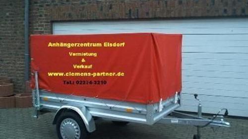 Plananhänger 750 kg geeignet für Führerschein B mit 2070 x 1080 x 1100 mm