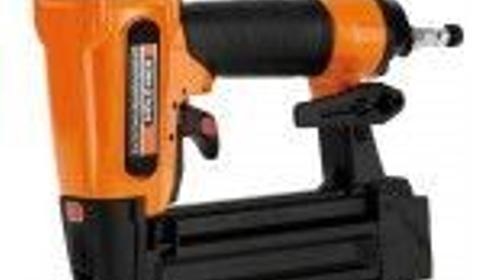 Nagelgerät - Elektrotacker - Tacker - Nagler - Druckluftnagler - Brad Nagler mit Kompressor