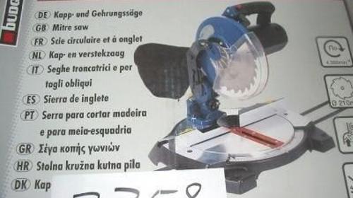 Kapp + Gehrungssäge BKS 12004 L 1200 Watt